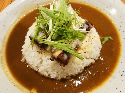 ヤムヤムジャークチキンの炙り焼カレー